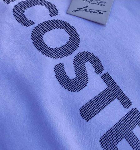 Camiseta Lacoste - Nova - Tamanhos P, G e GG - R$ 54,99 - Foto 3