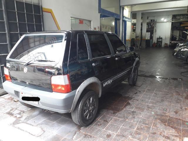 Fiat uno way fire 4p preto - Foto 6