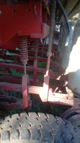 Plantadeira stara sfil 6 linhas de 50cm plantio convencional e direto