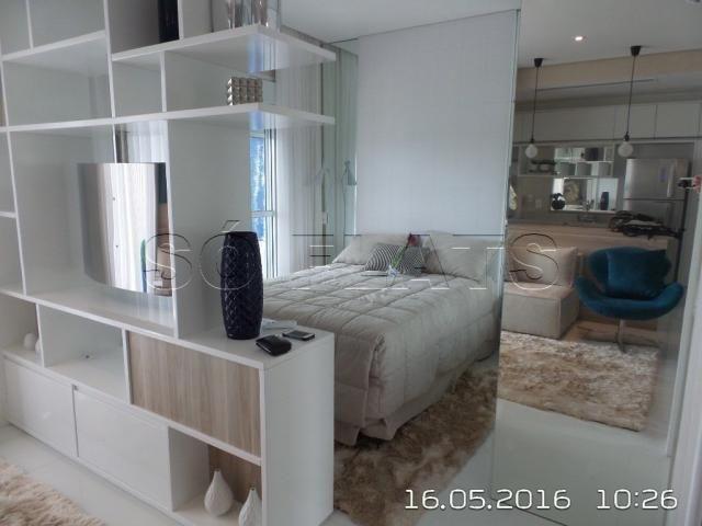 Apartamento no Itaim Bibi 1 Suíte Luxo 54m², condomínio com ótima estrutura