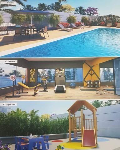 Lançamento View Residence Aptos 56m2 2 Dorms 1 Suíte Varanda Gourmet C/Churrasqu - Foto 6