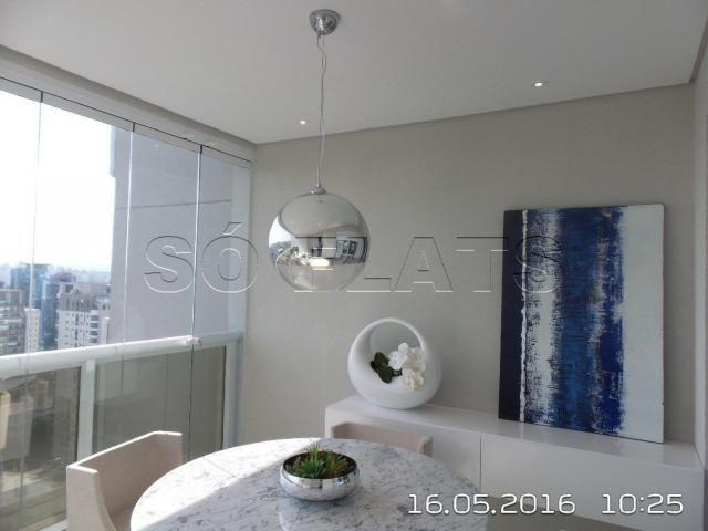 Apartamento no Itaim Bibi 1 Suíte Luxo 54m², condomínio com ótima estrutura - Foto 3