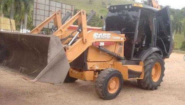 Retro Escavadeira Case Modelo 580n 4X4  - Foto 2