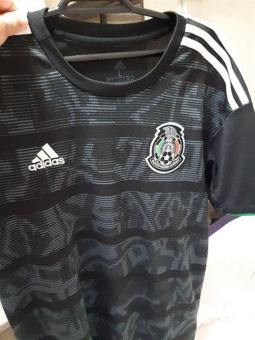 Camiseta Adidas Mexico - Foto 2