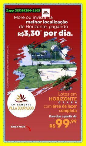 Loteamento Villa Dourados:::;Não perca tempo, invista agora!!!*@ - Foto 4