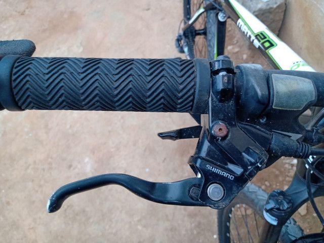 Pra vender hoje. Bike MERIDA 27.5, tamanho 17 - Foto 4