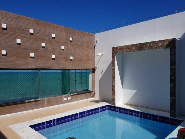 Cobertura Triplex , frente mar, 220 m² - Foto 17