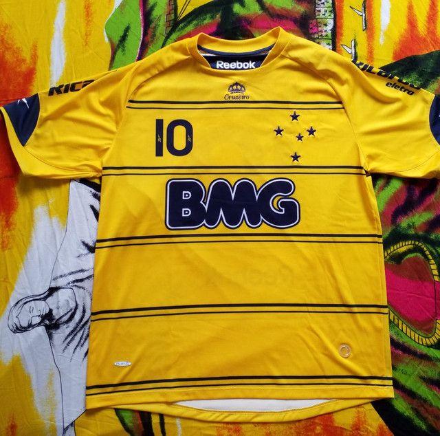 Camisa III Reebok Cruzeiro Original Nova - Ano 2010 - Foto 6