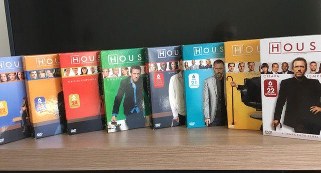 Coleção completa dvds House m.d