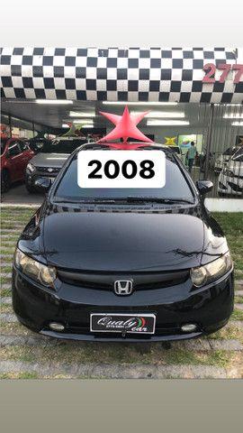 Honda Civic LXS 2008 - Top de linha