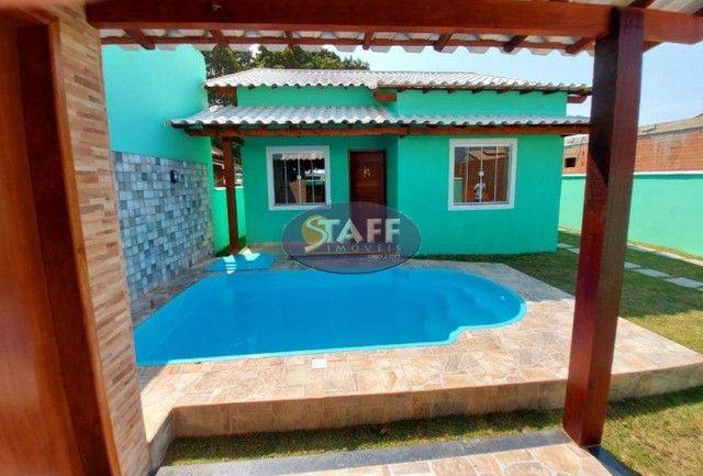 K- Casas lindas com 2 quartos, sendo 1 suíte, no Gravatá em Unamar - Foto 10