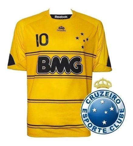 Camisa III Reebok Cruzeiro Original Nova - Ano 2010