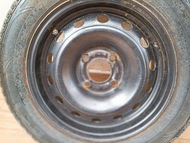 Pneu Ford completo aro 185/ 60R14 - Foto 2