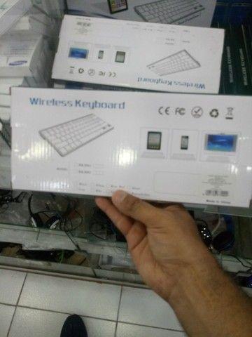 Teclado wireless pra notebook (entrega grátis pra Jp) - Foto 4