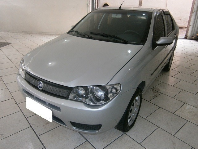Fiat Siena fire 1.0 prata 8v flex 4p manual 2007