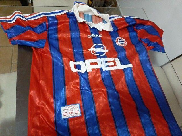 Camisas futebol clássicas Holanda,  Milan,  Bayern München e La Coruña. - Foto 4