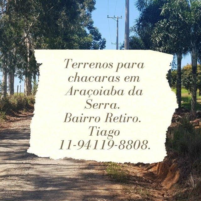 Terrenos para chácaras em Aracoiaba da Serra