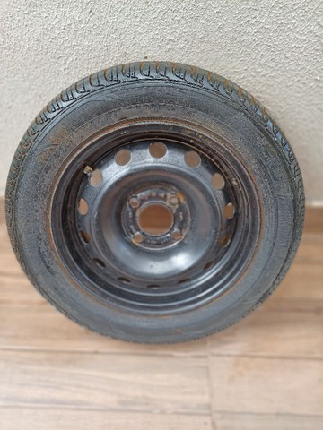 Pneu Ford completo aro 185/ 60R14 - Foto 5