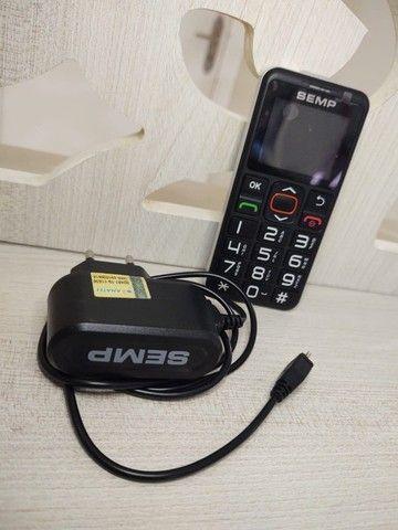 Celular teclado - SEMP celular para idosos - Foto 2