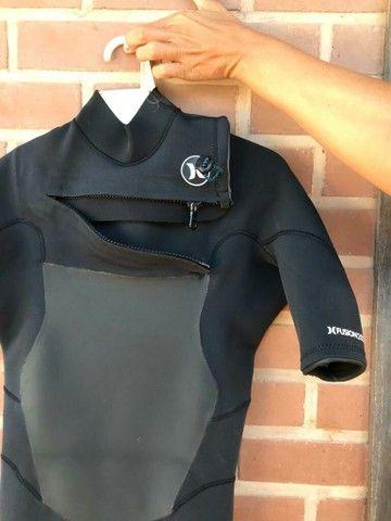 roupa de borracha hurley para surf - Foto 2