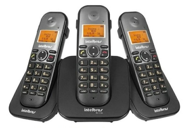 Telefone sem fio Intelbras TS 5123 INSTALADO