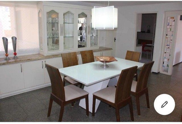 Lindo Apartamento, vista mar, com 158m² a 150m da Abolição, com 3 suítes. - Foto 8