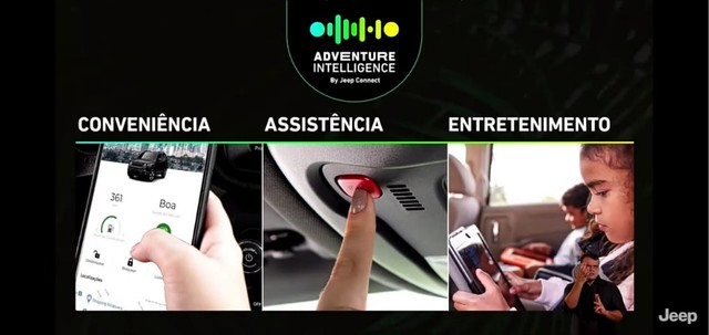 Novo Jeep Compass Sport 1.3 turbo flex 2022 SUV 185 cavalos PJ e PCD - Foto 9