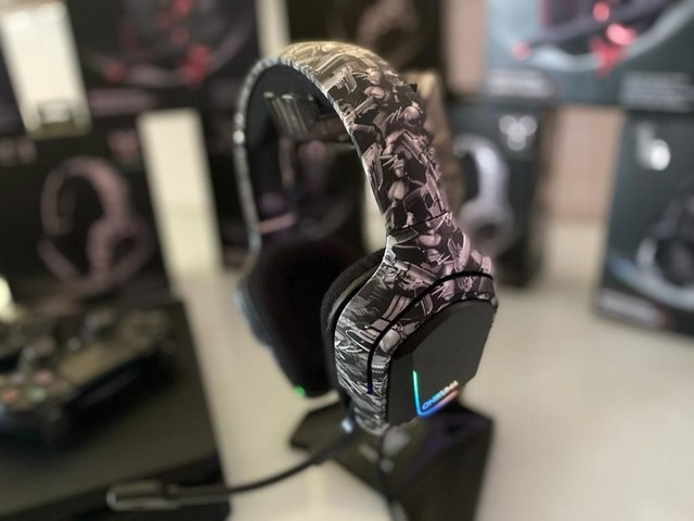 Headset profissional camuflado Onikuma - para PC, Xbox e PS4 - Foto 6
