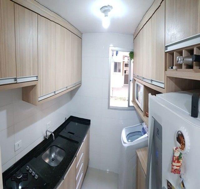 Apartamento com 3 quartos semi mobiliado_no_Fazendinha  - Foto 7