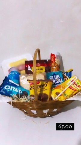 Cestas de café da manhã e cestas de chocolates  - Foto 2