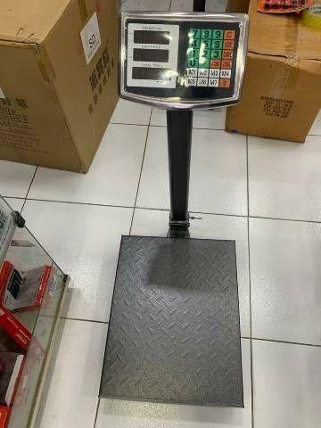 Balança plataforma 40x30 100kg(entrega grátis para jp) - Foto 2