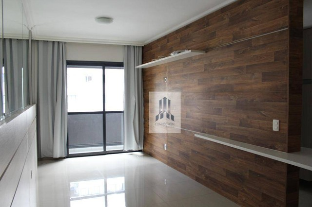 Apartamento com 1 dormitório para alugar, 48 m² por R$ 1.300,00/mês - Bigorrilho - Curitib - Foto 4