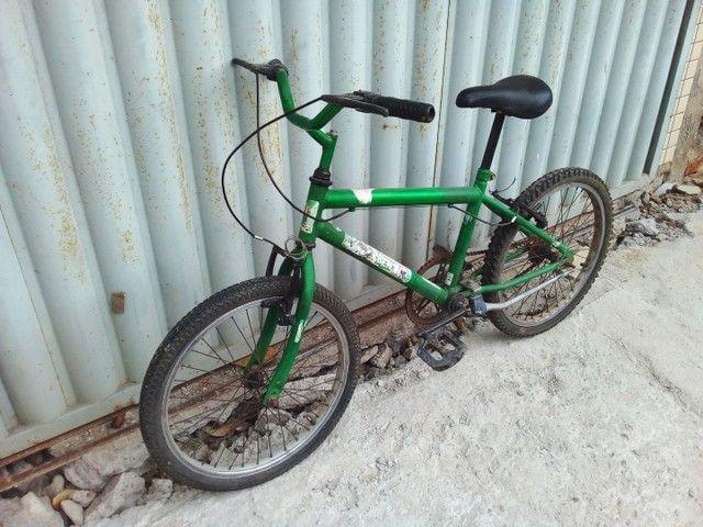 Bicicleta aro 20 semi  nova so  vendo  - Foto 3