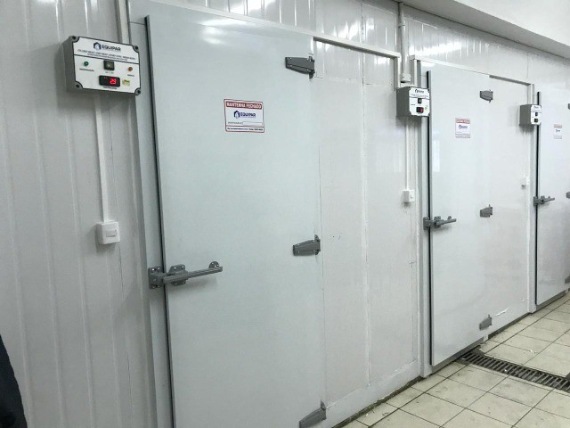 Portas Frigoríficas para Câmara Fria - Foto 2