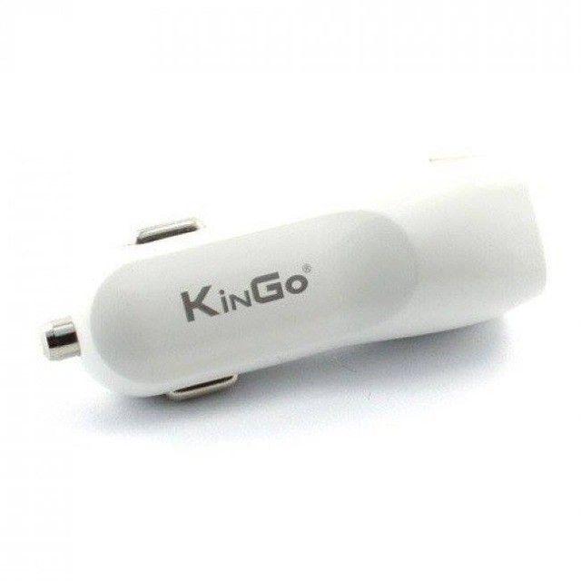 Carregador Veicular USB Duplo - Kingo - Foto 2