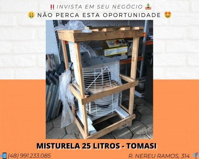 Misturador para massa de salgadinhos 25 LTS - Misturela / Mexerola Tomasi | Matheus