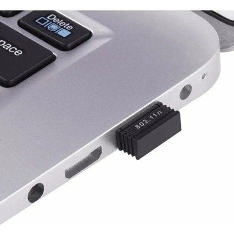 Mini Adaptador Wireless Usb 2.4ghz Wifi 950mbps Nano Sem Fio - Foto 5
