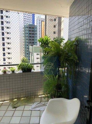 Apartamento com 2 dormitórios para alugar, 152 m² por R$ 660.000,00/mês - Boa Viagem - Rec - Foto 18