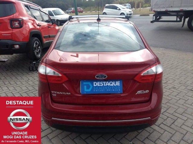 Fiesta Sedan Titanium Plus Automático 2017 - Foto 5