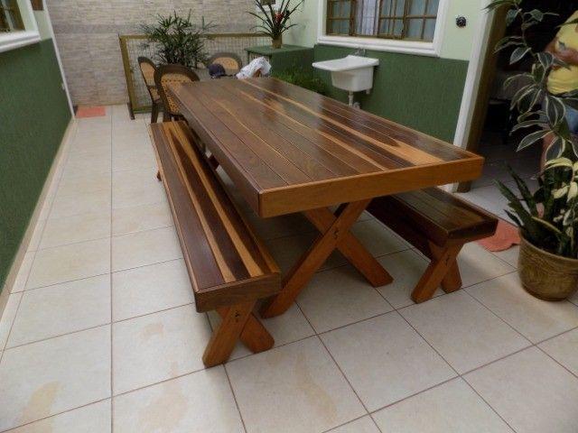 Jogo de mesa 2,50 mt - Foto 2