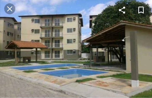 Cond. Parque Itaóca - vende ótimo apartamentos com sacada, 2/4 com e sem suíte. - Foto 7
