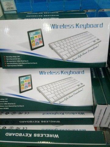 Teclado wireless pra notebook (entrega grátis pra Jp)
