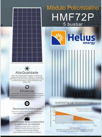 Placa / Módulo / Painel solar fotovoltaico 335w - pronta entrega! - Foto 3