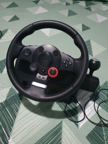 Volante logitech driving force gt - Foto 6