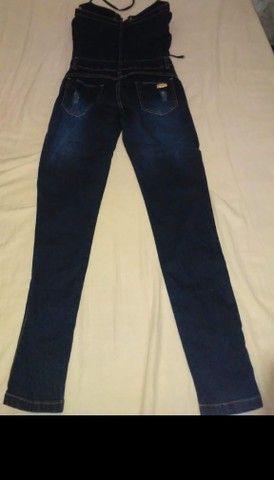 Macacão jeans  - Foto 3