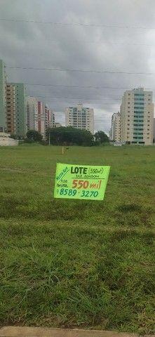 Frente Á. Claras, lote top de linha com lazer de 550m2 (baixei total)