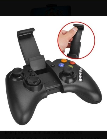 Controle Joystick Bluetooth Celular/Notebook/ - Foto 3