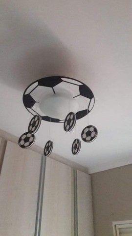 Luminaria infantil futebol