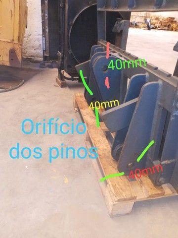 Garfo para adaptação  Pá Carregadeira para Empilhadeira - Foto 3