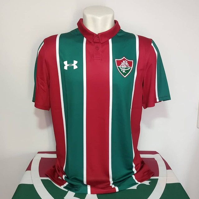 Camisa Fluminense tricolor Under Armour 2019